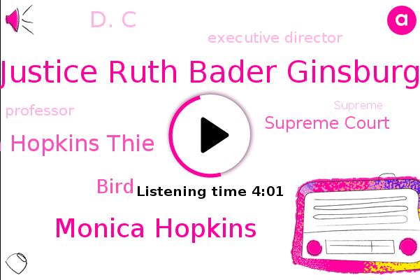 Listen: U.S. Supreme Court's Ginsburg, a Liberal Dynamo, Championed Women's Rights
