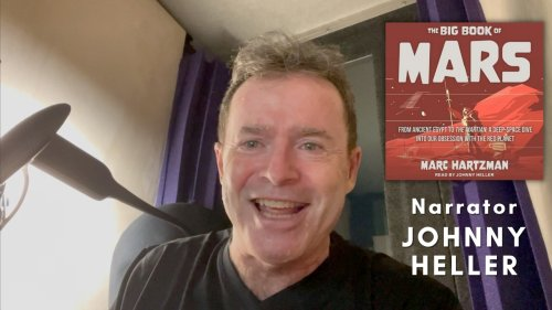 Golden Voice Narrator Johnny Heller on THE BIG BOOK OF MARS