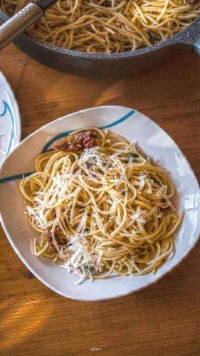 Zitrus Kräuter Spaghetti, erfrischender Genuss, schnell und einfach gemacht!