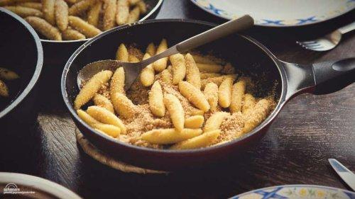 1 x Brösel Nudeln, wahrscheinlich das einfachste Gericht!