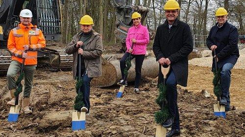 Hochbehälter Donauwörth: Der Startschuss für den Bau ist erfolgt