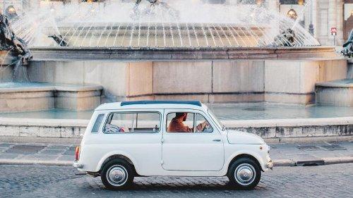 7000 Kilometer mit einem 14-PS-Fiat: Wie war's in Italien, Herr Maurer?