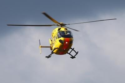Betriebsunfall in Mödingen: Mann gerät mit Hand in Kreissäge
