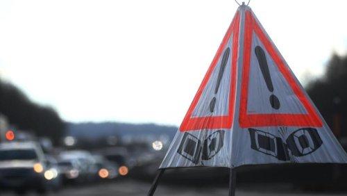 Unfall bei Neusäß: A8 in Richtung Ulm voll gesperrt