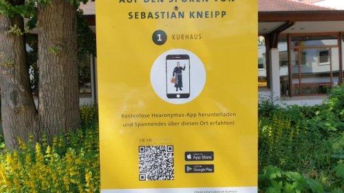 Mit dem Smartphone auf Kneipps Spuren in Bad Wörishofen