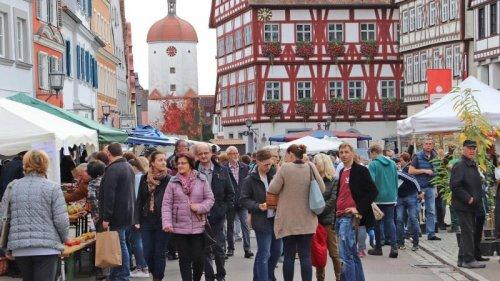 Herbstmärkte in Oettingen und Nördlingen