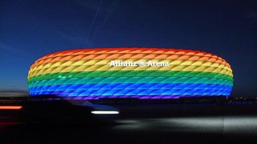 München will Arena beim Spiel gegen Ungarn in Regenbogenfarben beleuchten