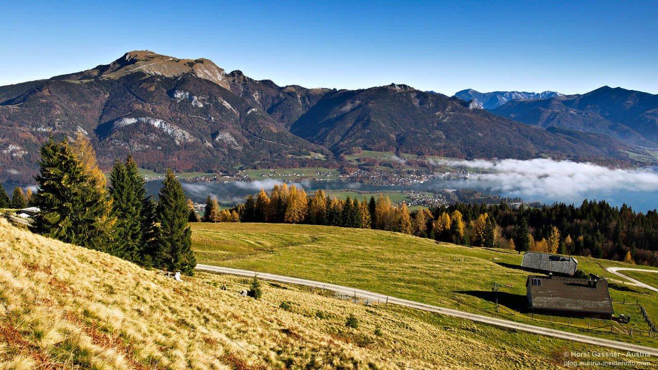 Wanderung Breitenberg am Wolfgangsee   Austria Insiderinfo