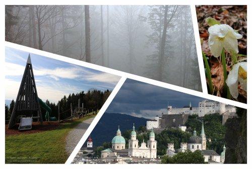 7 Wanderungen bei Schlechtwetter in Salzburg - raus mit dir! - cover