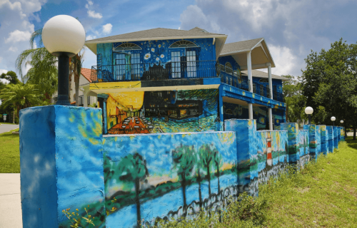 """Home is Where the Art is at the """"Starry Night"""" House in Mt. Dora"""