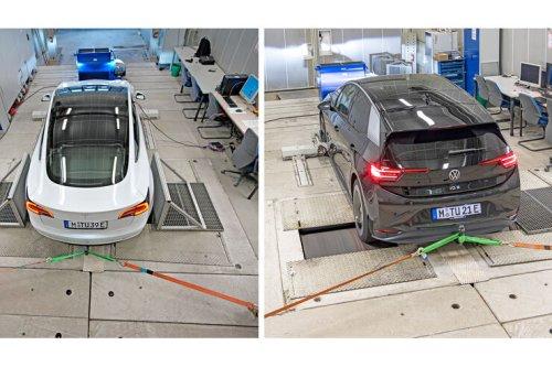 Akkus im Labor-Test: VW ID.3 gegen Tesla Model 3: Tesla top, VW dicht dran