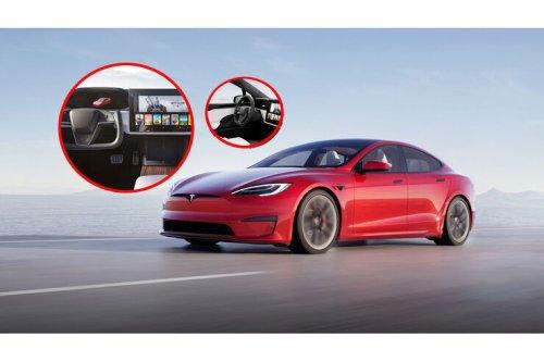 Facelift für Tesla Model S (2021): Plaid-Antrieb, 1.020 PS, neue Lenkrad-Option