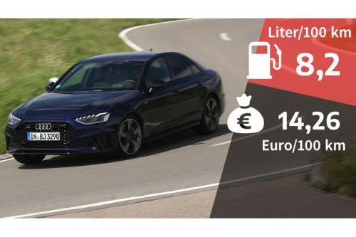 Kosten und Realverbrauch: Audi A4 45 TFSI Quattro S Line