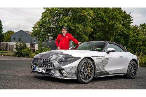 Mercedes-AMG SL (2022): Alles neu beim AMG SL