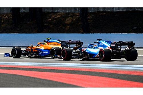 Alpine trumpft auf: Neuer Motor beflügelt Alonso