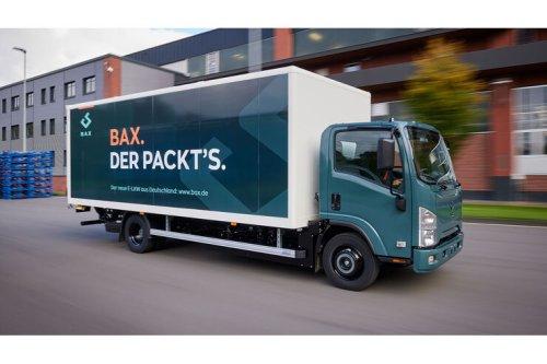 BAX Elektro-Lkw: 7,5 Tonner mit Nutzlast-Plus