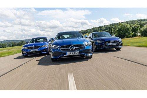 Audi A4, BMW 3er, Mercedes C-Klasse: Ist der Stern wieder spitze?