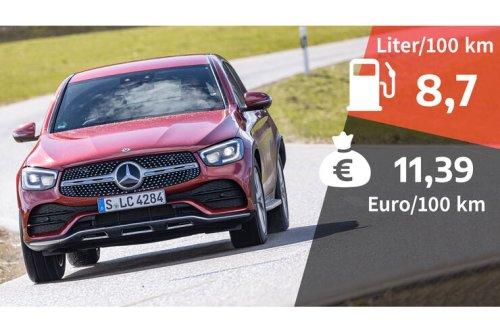 Kosten und Realverbrauch: Mercedes GLC 400d 4Matic Coupé