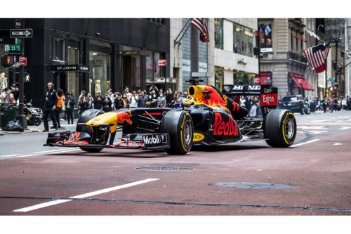 F1-Showruns in New York & Dallas: Red-Bull-Roadtrip nach Texas