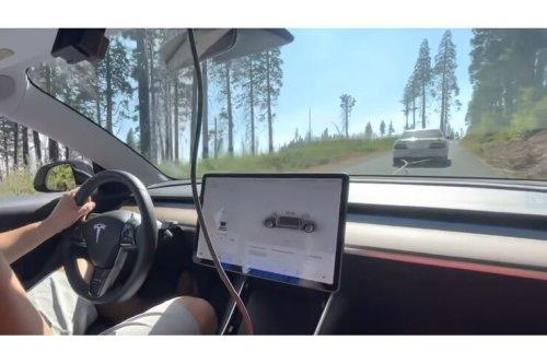 Youtuber startet spannenden Tesla-Versuch: Rekuperiert das Model 3 am Abschleppseil?