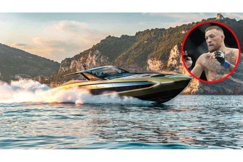 Tecnomar Lamborghini 63 für Conor McGregor: MAN-V12, 2.000 PS, 60 Knoten