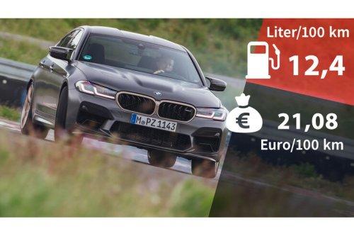 Kosten und Realverbrauch: BMW M5 CS