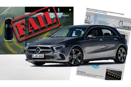 Mercedes-Parkassistent verliert Funktionen: Neue Richtlinie erzwingt Downgrade