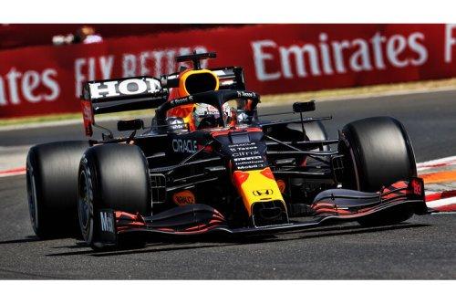 GP Ungarn 2021 - Ergebnis Training 1: Verstappen knapp vor Mercedes