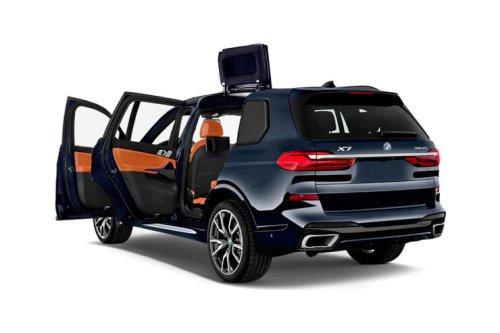 BMW Tür-Patent: Dachausschnitt für E-Autos bei der Fond-Öffnung