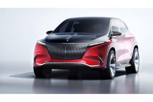 Concept Mercedes-Maybach EQS: Elektro-Maybach nimmt EQS SUV vorweg
