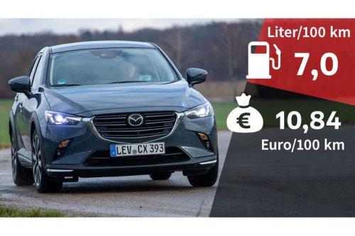 Kosten und Realverbrauch: Mazda CX-3 Skyactiv-G 2.0 Selection