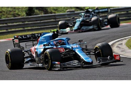 GP Ungarn 2021 - Ergebnis Rennen: Ocon siegt vor Vettel – völliges Chaos