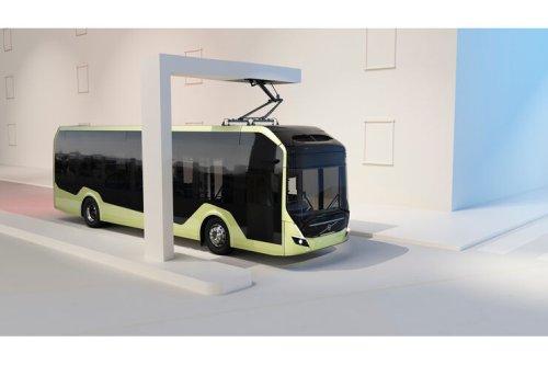 Volvo Buses stellt neue Plattform vor: Elektro-Busse mit Taycan-Genen