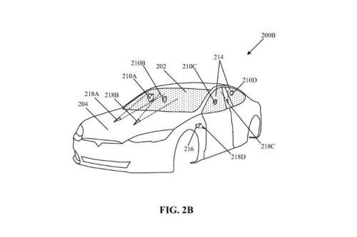 """Nicht wischen, sondern brutzeln: Tesla erhält Patent für Laser-""""Scheibenwischer"""""""