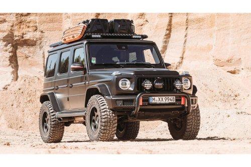 Delta 4x4 Mercedes G-Klasse: Wo bitte geht es zur Dakar?