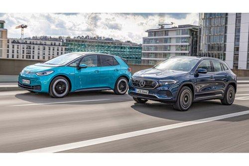 Mercedes EQA 250 und VW ID.3 im Test: Das Kompaktstromer-Duell