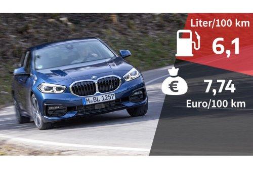 Kosten und Realverbrauch: BMW 118d Sport Line