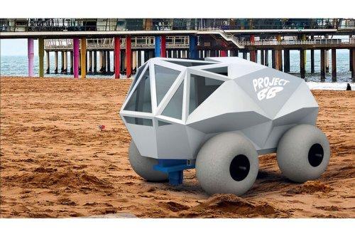 The Beach Bot aus den Niederlanden: Autonomer Müllsammler für den Strand