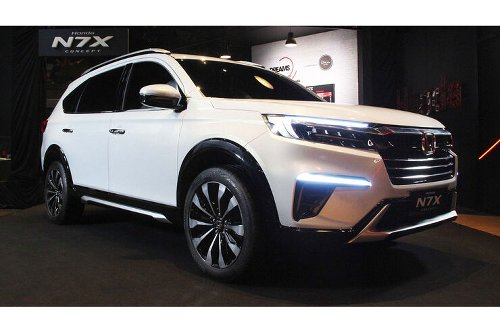 Honda N7X Concept: Siebensitzer-SUV für Indonesien