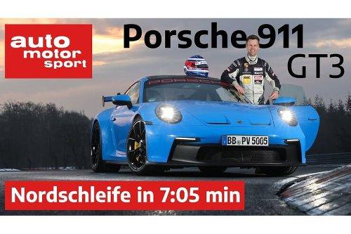 Porsche 911 GT3 (992) auf dem Nürburgring: Gebhardts heißer Nordschleifen-Ritt im Video