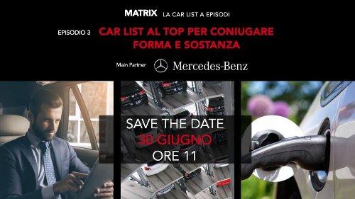 Mercedes-Benz è main partner del terzo episodio di Matrix