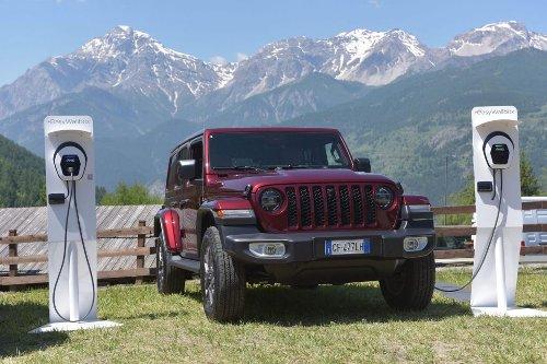Jeep Wrangler 4xe insieme a Free2Move eSolutions per l'evoluzione sostenibile
