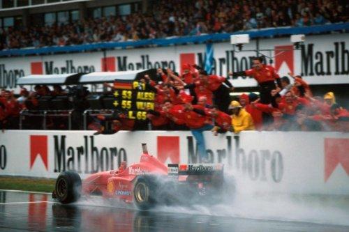 Una foto, una historia: GP España 1996, ¡recital de Schumacher!
