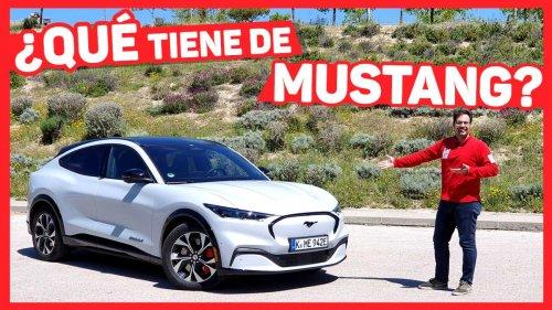 VÍDEO: Prueba a Fondo Ford Mustang Mach-e en su versión más potente con 351 CV