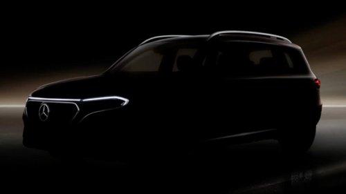 Mercedes EQB: primer teaser de la versión eléctrica del GLB