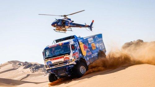Los secretos de los impresionantes camiones del Dakar