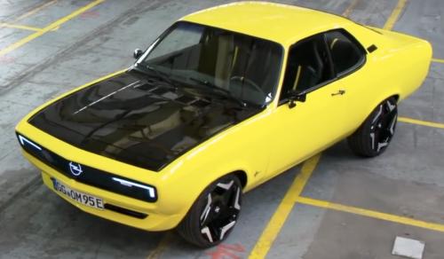VÍDEO: ¡Lo tenemos! Opel Manta GSE ElektroMOD, un clásico transformado en 100% eléctrico
