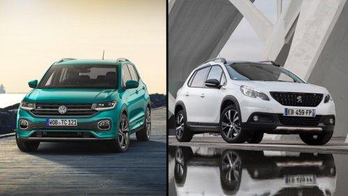 ¿Cuál es mejor, el Volkswagen T-Cross o el Peugeot 2008?