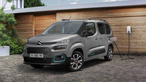 Citroën Berlingo, así son sus versiones con etiqueta Cero Emisiones