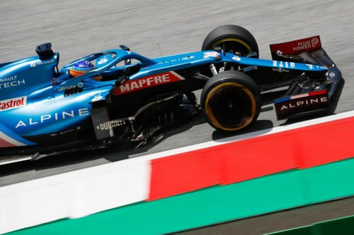 GP Estiria F1: Fernando Alonso, contento y rozando el 100%